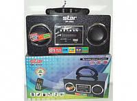 Портативный приемник с USB Star SR-8962 (Atlanfa), MP3, CardReader, светодиодный дисплей, пульт ДУ