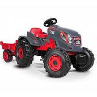 Трактор педальный от 3 лет XXL с прицепом Smoby 710200