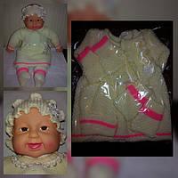 Комплект для новорожденного с платьем