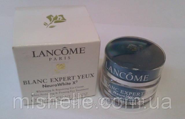 Отбеливающий крем для кожи вокруг глаз Lancome blanc expert neurowhite X3