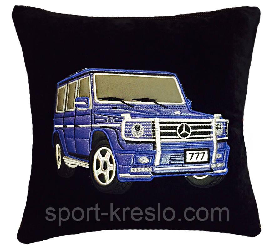 Подушка сувенирная с Вашим авто в машину