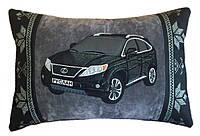 Подушка дизайнерская с Вашим авто в машину