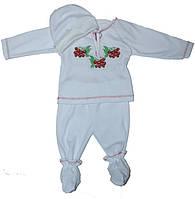 Крестильный костюм для новорожненных