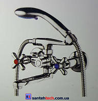 Смеситель для ванны короткий гусак, DST3-A725 ZEGOR (TROYA)