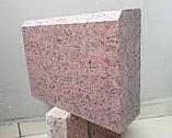 Садовый бордюр из красного гранита, фото 4
