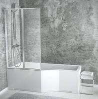 Ванна BESCO INTEGRA 150x75 ліва (без панелі, шторки, ніжок)
