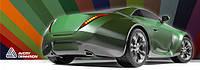 Пленка для оклейки авто Avery SWF литая с микроканалами Черный