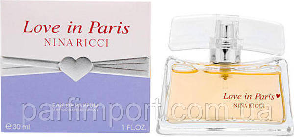 Nina Ricci Love in Paris EDP 50 ml  парфумированная вода женская (оригинал подлинник  Франция)