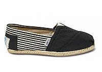 Женские TOMS Black University Rope Sole Women's Classics, фото 1
