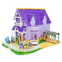 """3D пазлы """"Фиолетовый домик"""" - Melissa & Doug"""