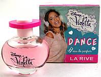 La Rive Disney Violetta Dance Парфюмированная вода для девочек 50 мл