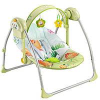 Кресло качалка  Babyhit Deep Sleep музыка таймер зеленое
