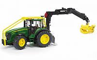 Трактор с манипулятором John Deere 7930 Bruder 03053