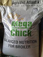 Агроветатлантик Mega Chick™ BG (гровер бройлер 15-35 день ) 25 кг