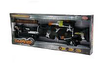 "Автомат PLAY SMART ""Снайпер"" батарейке музыка свет в коробке 51*4,5*20"