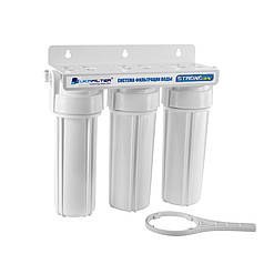 Трехступенчатый фильтр для воды (под мойку)