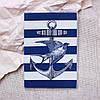 Обложка на паспорт «Якорь» kbp-49