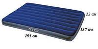 Intex 68758  Надувной матрас 191 х 137 х 22 см