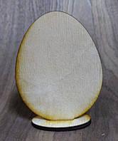 Пасхальное яйцо заготовка 9см*7см на подставке