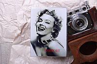 Обложка на паспорт «Мэрилин Монро» kbp-55