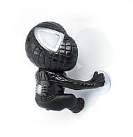 Человек паук на липучках черный
