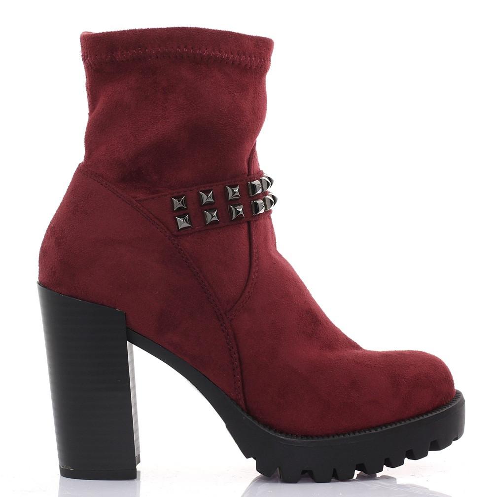 Женские ботинки Nell red