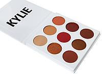 Палетка теней Kylie Cosmetics Kyshadow The Burgundy Palette (silver), фото 1