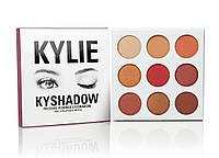 Тени Kylie Cosmetics Kyshadow The Burgundy Palette (silver), фото 1
