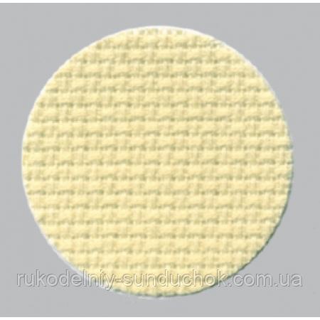 Aida Zweigart 16 ct. Aida 3251/2020 Pale Lemon (бледно-лимонная) 50*55 см