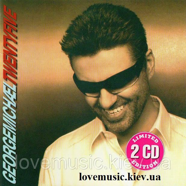 Музичний сд диск GEORGE MICHAEL Twenty five (2006) (audio cd)