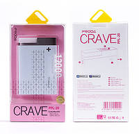 Внешний аккумулятор Remax Proda CRAVE Power Bank, 12000 mAh Розовый