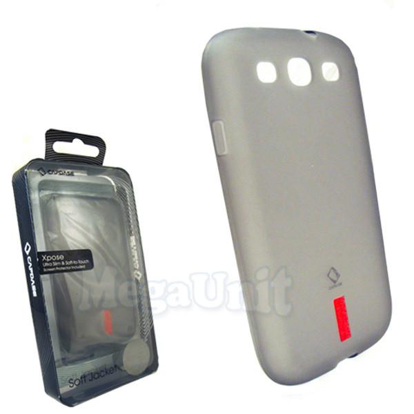 Capdase. Samsung I9300 Galaxy S3. Силиконовый чехол (+пленка)