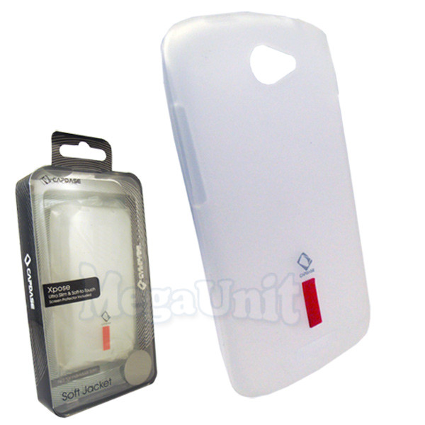 Capdase. HTC Z520e One S. Силиконовый чехол (+пленка)