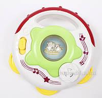 Игрушка для детей музыкальная развивающая Руль Lindo A 661  цвет - белый с красным