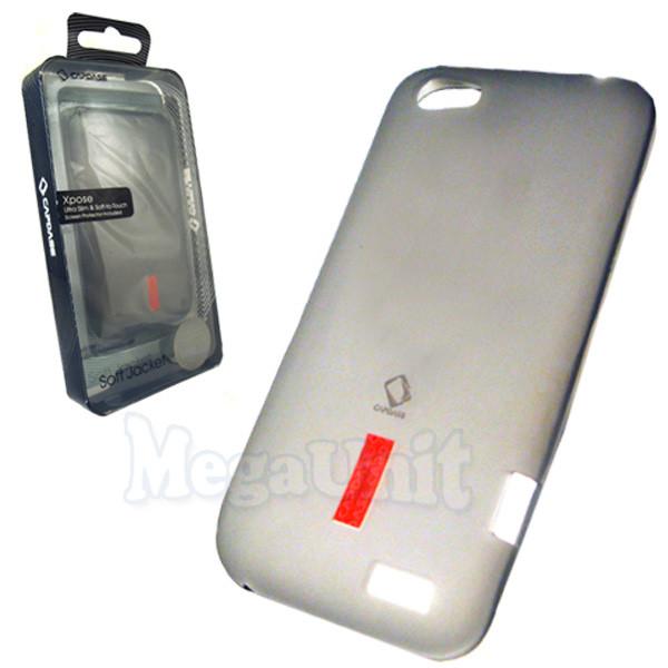 Capdase. HTC T320e One V. Силиконовый чехол (+пленка)