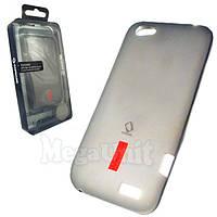 Capdase. HTC T320e One V. Силиконовый чехол (+пленка), фото 1