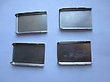 Задняя крышка для Nokia 6300 (металл, серебро), фото 8