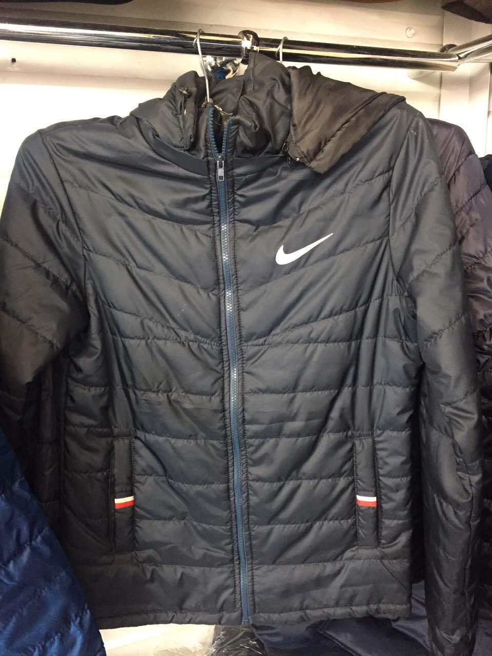 caa598e9 Мужская куртка ветровка демисезонная Nike (Найк)с капюшоном 46-54 рр ...