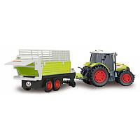 Трактор с электрическим прицепом Dickie 3736001_sia