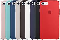 Оригинальный силиконовый чехол (накладка) Apple iPhone 7 / iPhone 8 Silicone case