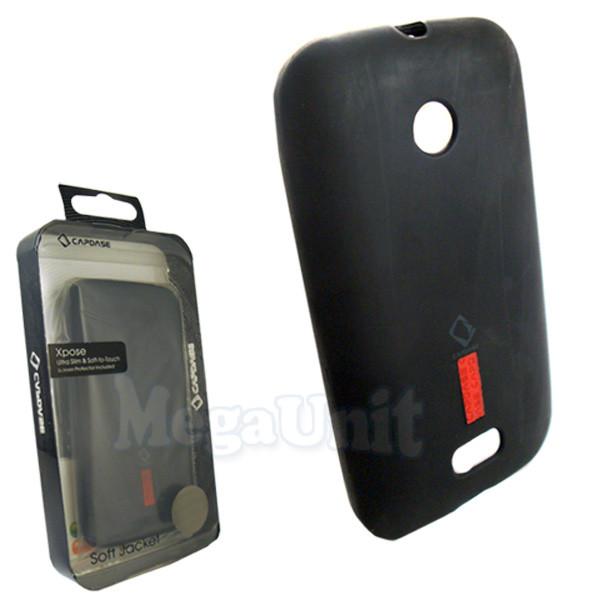 Capdase. Nokia Lumia 510. Силиконовый чехол (+пленка)