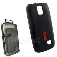 Capdase. Nokia Asha 308. Силиконовый чехол (+пленка), фото 1