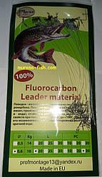 Рибальські повідці Проф-Монтаж Fluorocarbon 100% (30шт) флюрокарбон 0,60 мм