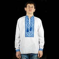 "Вышиванка мужская ""Классика"", поплин, 46-56 р-ры, 440/320 (цена за 1 шт. + 120 гр.)"