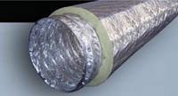 """Воздуховод  изолированный — 4"""" (102 мм) гибкий вентиляционный"""