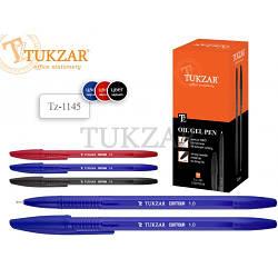 Ручка на масляной основе, шариковая, чёрная TZ 1145  (2000)