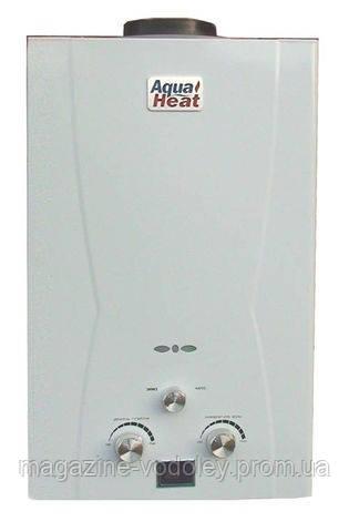 Газовая колонка Aqua Heat белая