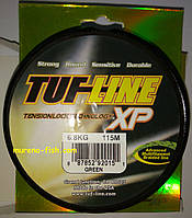 Шнур плетеный Tuf Line XP 115m green braid 0.20mm- 12.7kg