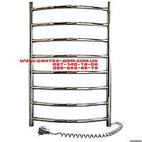 Полотенцесушители и радиаторы Navin электрический полотенцесушитель Камелия(лесенка) 450*800/8полок нерж