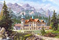 Пазлы 3000 Картина - Замок в горах